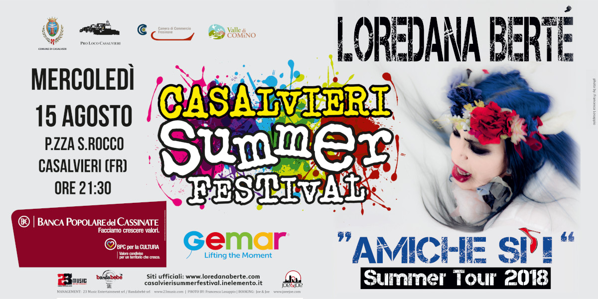 Loredana Berté al Casalvieri Summer Festival